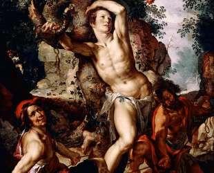 Martyrdom of St. Sebastian — Йоахим Эйтевал