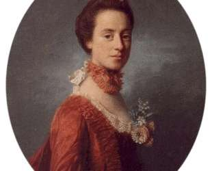 Mary Digges (1737-1829) Lady Robert Manners — Аллан Рэмзи