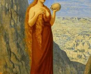 Mary Magdalene in the Desert — Пьер Пюви де Шаванн