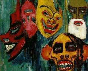 Mask Still Life III — Эмиль Нольде
