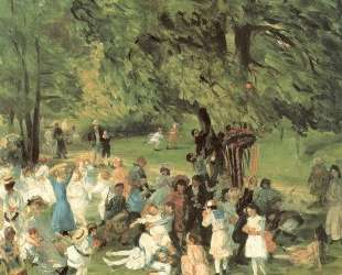May Day in Central Park — Уильям Джеймс Глакенс
