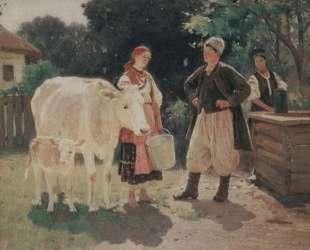 Meeting at the Well — Алексей Венецианов