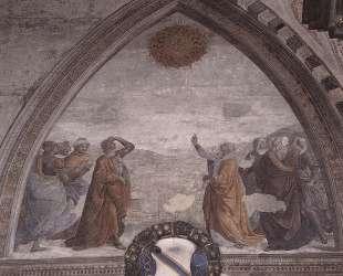 Meeting of Augustus and the Sibyl — Доменико Гирландайо