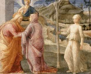 Meeting of Joachim and Anne at the Golden Gate — Филиппо Липпи