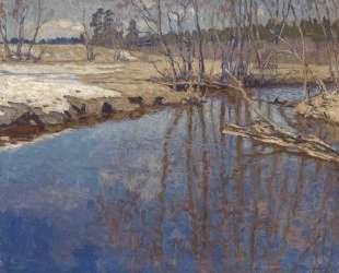 Талая вода — Николай Богданов-Бельский