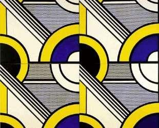 Модульная картина с четырьмя панелями, № 1 — Рой Лихтенштейн