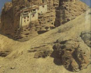 Monastery in a Rock. Ladakh — Василий Верещагин