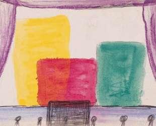 Monochrome yellow, red and green (theater) — Ив Кляйн