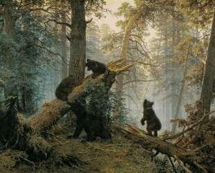 Утро в сосновом лесу — Иван Шишкин
