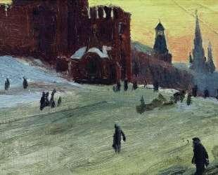 Москва. Красная площадь — Борис Кустодиев