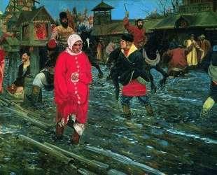 Moscow Street of XVII Century — Андрей Рябушкин