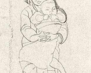 Mother and Child — Джулиан Олден Вейр
