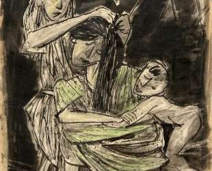 Mother and Children — Марсель Янко