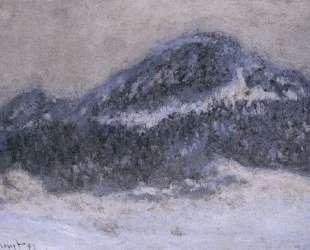 Гора Колсаас в туманную погоду — Клод Моне