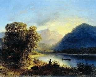 Mountain lake — Лев Лагорио