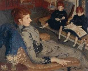 Mrs Cyprian Williams and Her Two Little Girls — Филип Уилсон Стэр