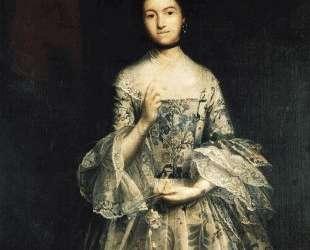 Mrs. William Molesworth — Джошуа Рейнольдс