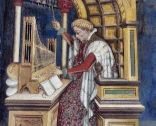 Music, Playing the Organ — Джентиле да Фабриано