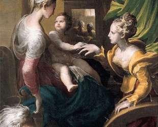 Mystic Marriage of Saint Catherine — Пармиджанино