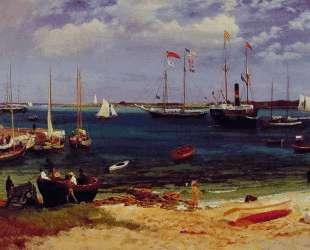Nassau Harbor — Альберт Бирштадт
