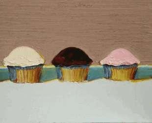 Neapolitan Cupcakes — Уэйн Тибо