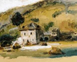 Near Aix En Provence — Поль Сезанн