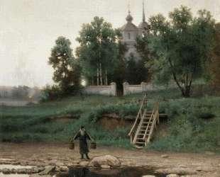 Near the Monastery — Ефим Волков