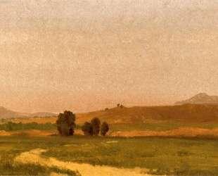 Nebraska, On the Plain — Альберт Бирштадт