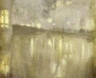 Nocturne Grey and Gold — Canal — Джеймс Эббот Макнил Уистлер