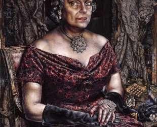 Portrait of Mary Block — Айвен Олбрайт