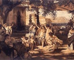 The Judgement of Paris — Генрих Семирадский