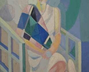 Portrait of Madame Heim — Робер Делоне