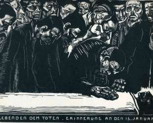 Memorial for Karl Liebknecht — Кэте Кольвиц