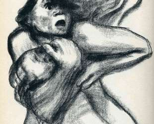 Death Seizing A Woman — Кэте Кольвиц