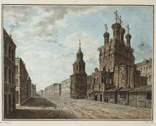 November 7, 1824 in the square in front of the Bolshoi Theatre — Фёдор Алексеев