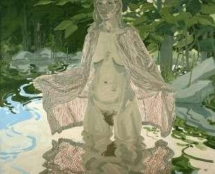 Nude in Striped Robe #2 — Нил Уэлливер