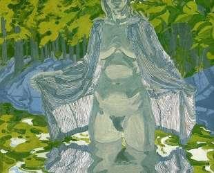 Nude in Striped Robe — Нил Уэлливер