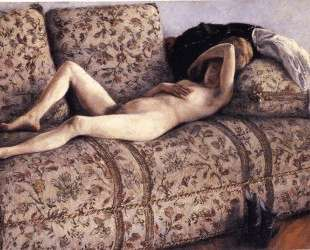 Nude on a Couch — Гюстав Кайботт