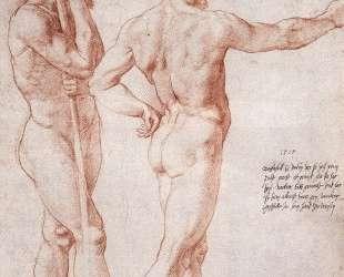 Nude Study — Аннибале Карраччи