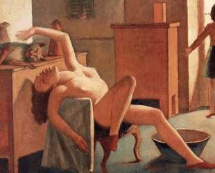 Nude with Cat — Бальтюс