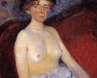 Nude with Hat — Уильям Джеймс Глакенс