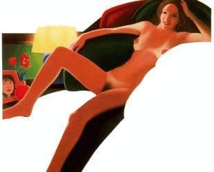 Nude with lamp — Том Вессельман