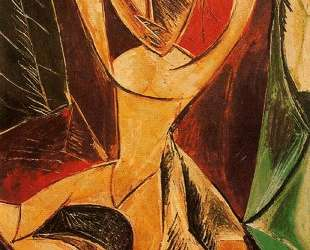 Nude with raised arms (The Avignon dancer) — Пабло Пикассо