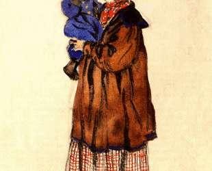 Нянюшка с ребенком. Эскиз костюма — Александр Бенуа