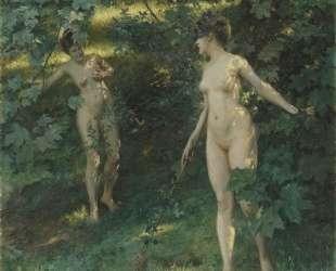 Nymphs of Nysa — Юлиус Леблан Стюарт