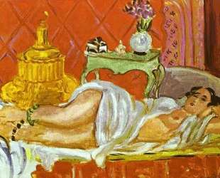 Odalisque, Harmony in Red — Анри Матисс