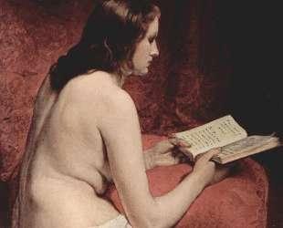 Odalisque with Book — Франческо Хайес