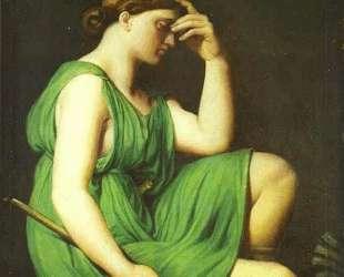 Одиссея. Этюд для Триумфа Гомера — Жан Огюст Доминик Энгр
