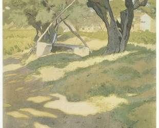 Оливковые деревья — Иван Билибин