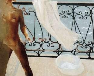 На балконе — Александр Дейнека